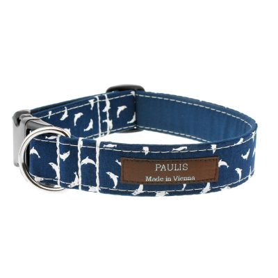 Hundehalsband von Paulis Hundeausstatter | Paulis Ahoi | Delfine