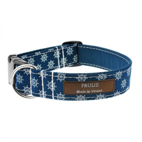Hundehalsband von Paulis Hundeausstatter | Paulis Ahoi | Steuerräder