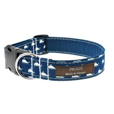 Hundehalsband von Paulis Hundeausstatter   Paulis Ahoi   Wale