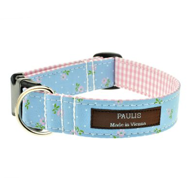 Hundehalsband von Paulis Hundeausstatter | Alles Tracht | Blumen | Jasmin