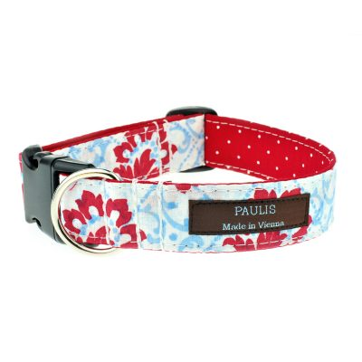 Hundehalsband von Paulis Hundeausstatter | Alles Tracht | Blumen | Maja