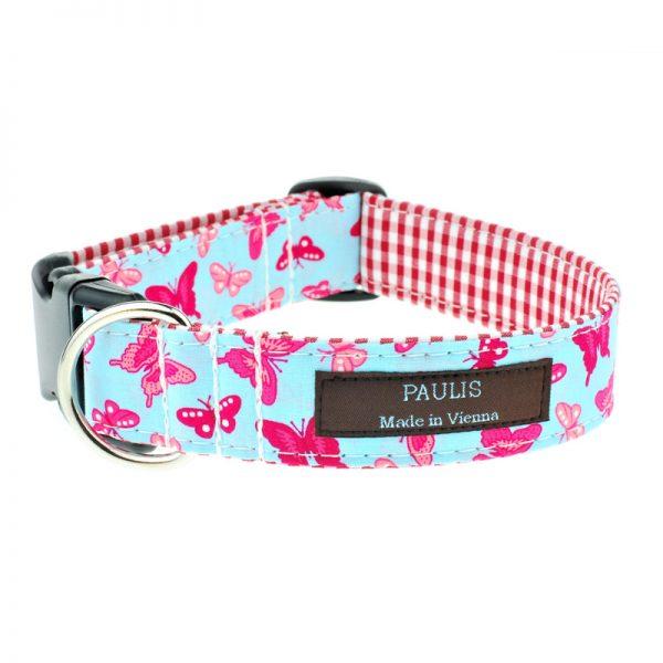 Hundehalsband von Paulis Hundeausstatter | Alles Tracht | Schmetterling | Poppy