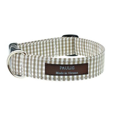 paulis-hundeausstatter-halsband-vichykaro-beige