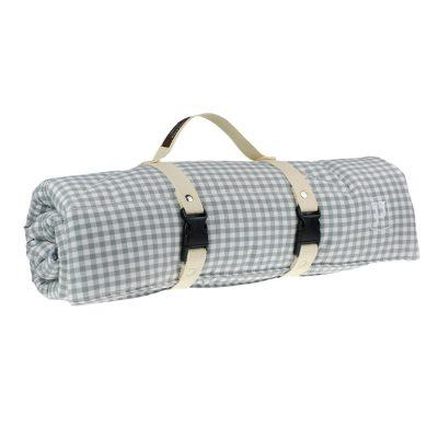 Picknicker von Paulis Hundeausstatter | Bauernkaro | grau
