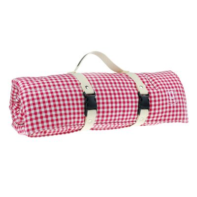 Picknicker von Paulis Hundeausstatter | Bauernkaro | rot