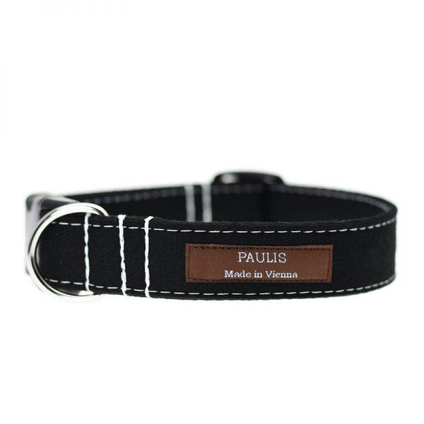 Hundehalsband von Paulis Hundeausstatter | Loden | schwarz