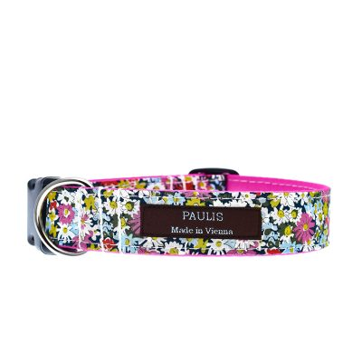 Paulis Hundeausstatter, Hundehalsband, Liberty London, Libby Red Tana Lawn Cotton
