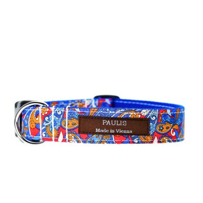 Paulis Hundeausstatter, Hundehalsband, Liberty London, Little Venice Tana Lawn Cotton