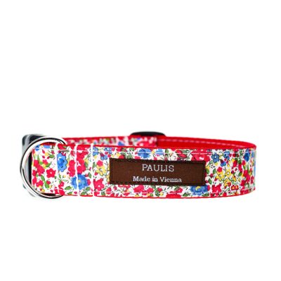 Paulis Hundeausstatter, Hundehalsband, Liberty London, Poppy and Daisy Tana Lawn Cotton