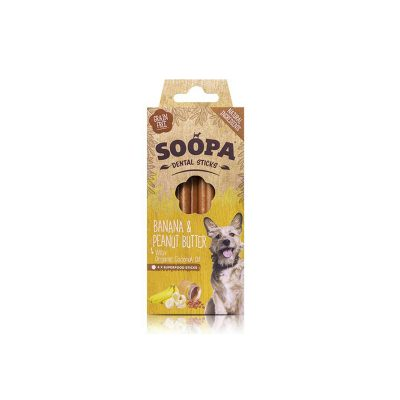 Paulis Hundeausstatter, Soopa: Banane-Erdnussbutter-Sticks