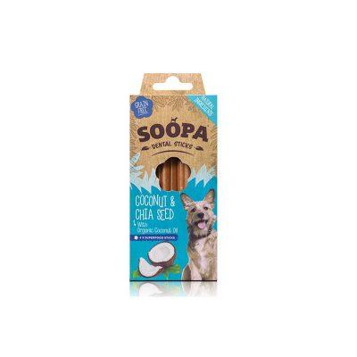 Paulis Hundeausstatter, Soopa: Kokosnuss-Chia Samen Sticks