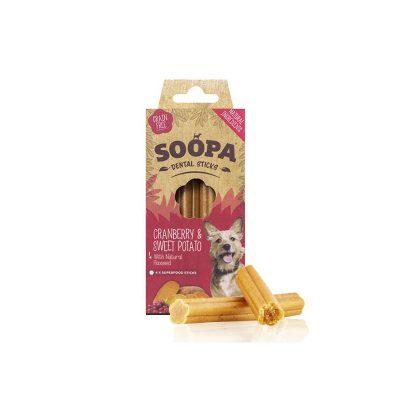 Paulis Hundeausstatter, Soopa: Süßkartoffel-Cranberry Stick