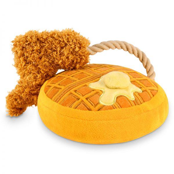 Paulis Hundeausstatter - Spielzeug für Hunde - P.L.A.Y. - Barking Brunch - Chicken Woofles