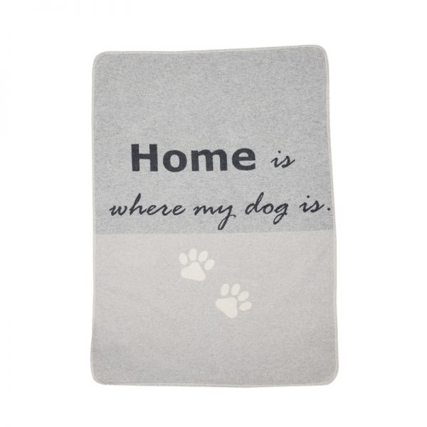 Paulis Hundeausstatter, Hundedecke-David Fussenegger, Home is where my dog is.